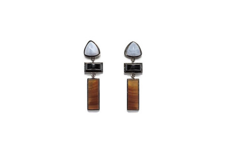 LIZZIE FORTUNATO VILLA EARRINGS