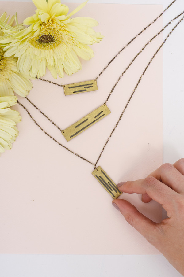 Geography 541 Emory Necklace