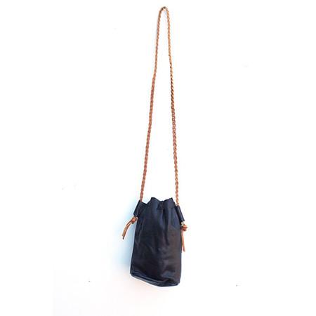 Btwn Wind & Water Black Bucket Bag