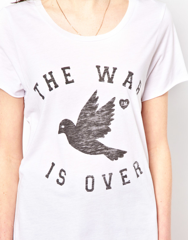 Zoe Karssen The War Is Over Tee
