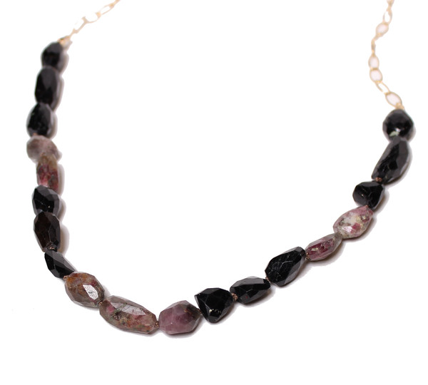 James and Jezebelle Rough Tourmaline Necklace