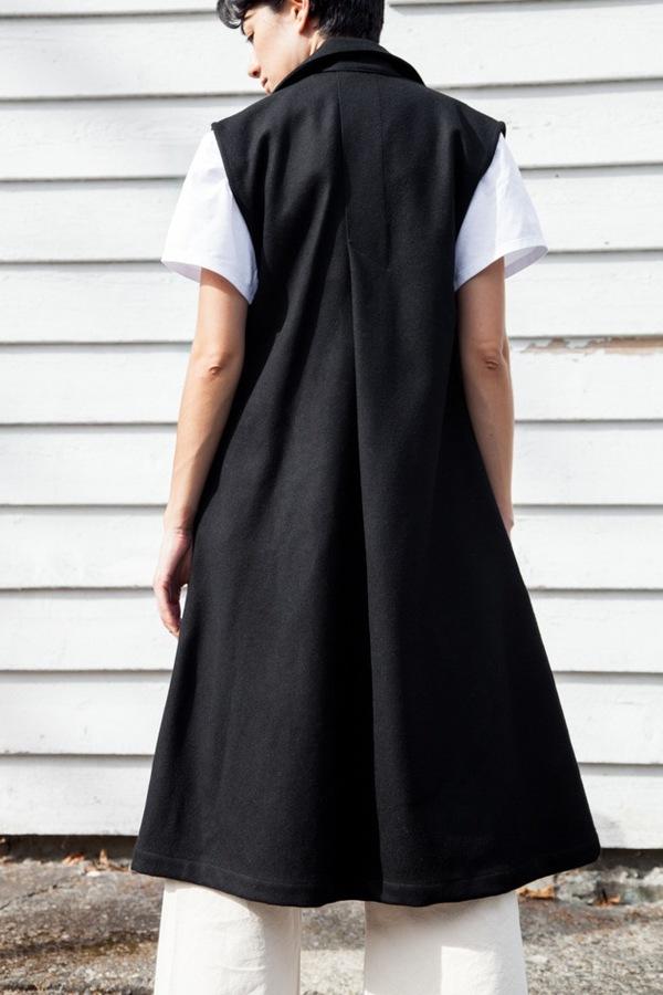 Jesse Kamm Vestido | black
