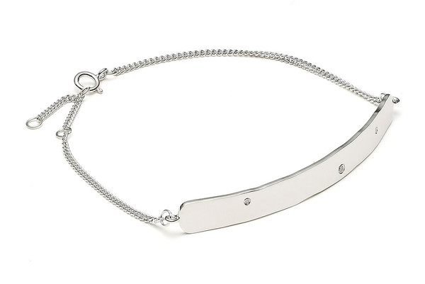 Louise Kragh Jewelry Raw Diamond Bracelet