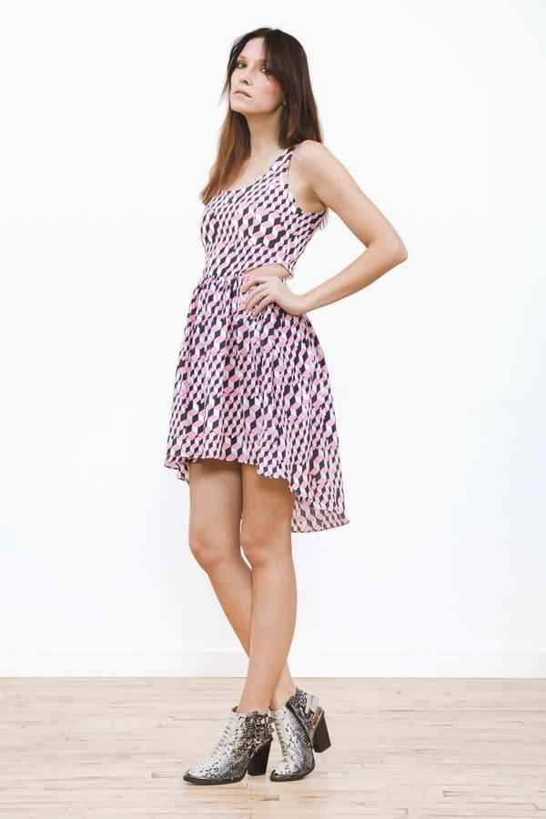 Line & Dot Griffith Cut Out Dress