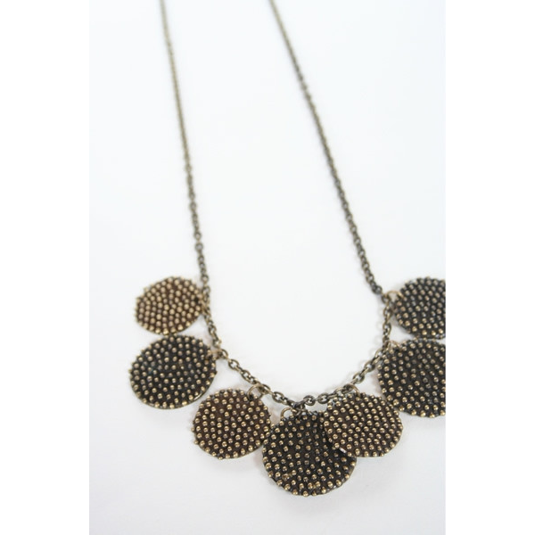 Kathryn Bentley Braille Disc Necklaces