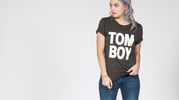 Petals & Peacocks The Ultimate Tomboy Tee