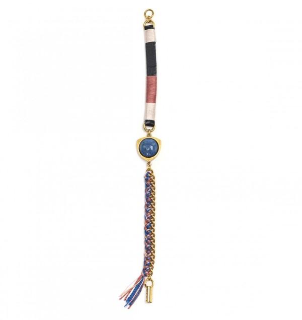 Lizzie Fortunato Taos Bracelet Lapis