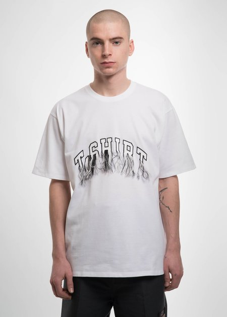 Doublet White Flying Embroidery T-Shirt