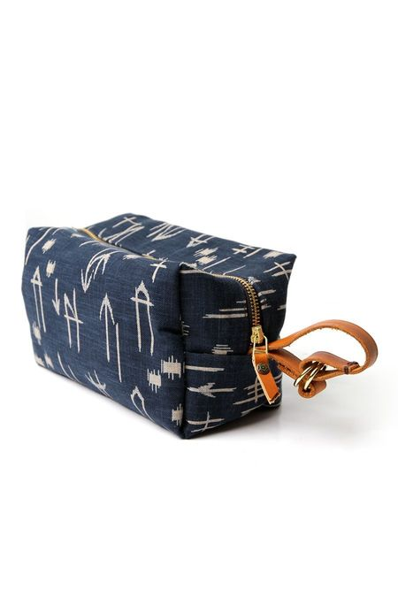 Kiriko Dopp Kit - Indigo Arrow