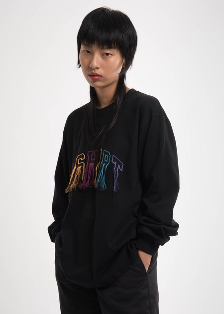 Doublet Black Flying Embroidery Long Sleeve