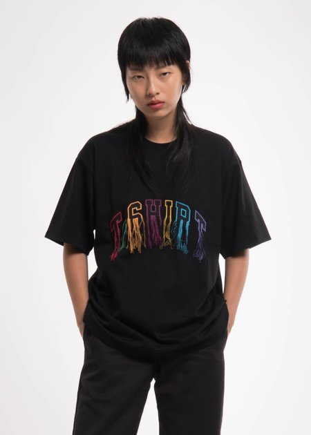 Doublet Black Flying Embroidery T-Shirt
