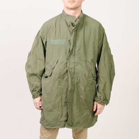 Unis New York Vintage Fishtail Parka - Olive