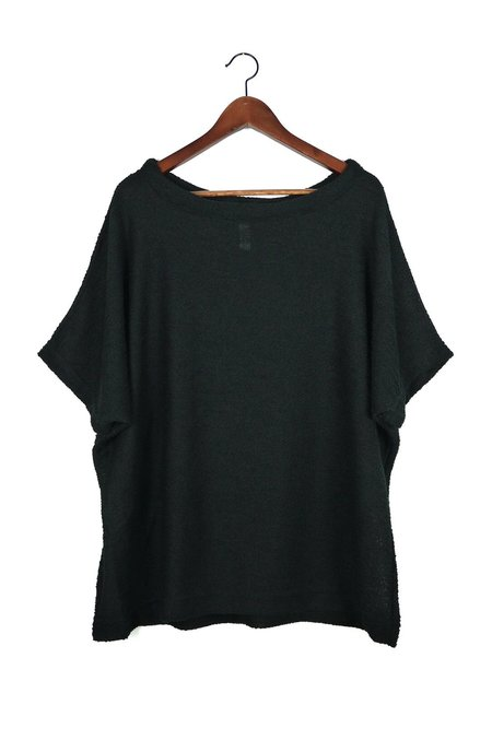 Uzi NYC Black Knit Kimono