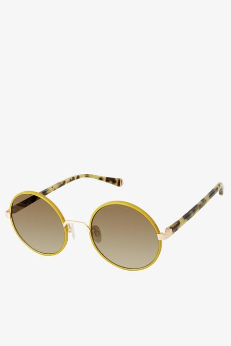 Kate Young for Tura Athena Sunglasses in Green