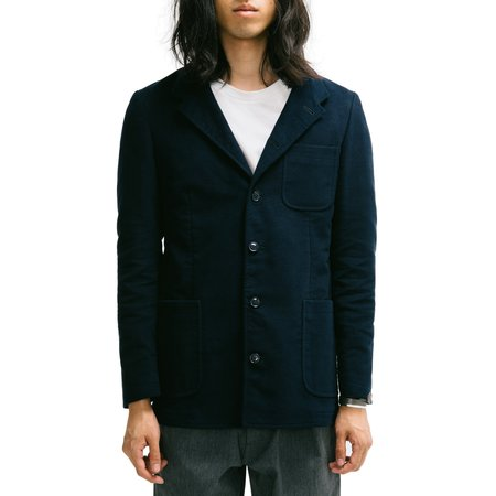 MP Massimo Piombo Moleskin Cotton Jacket