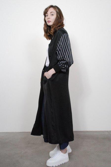 MM6 by Maison Margiela Oversized Coat - Black