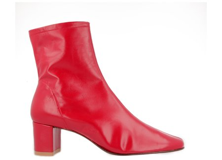 By Far Shoes Sofia - Red Leather