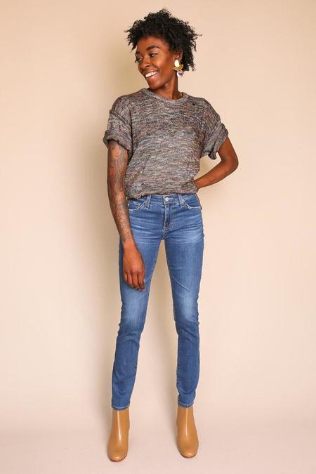 AG Jeans Prima Cigarette Jean in 14 Years Blue Nile