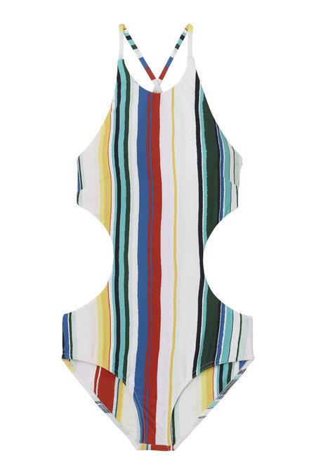 WHiT Sail Suit in Serape Stripe