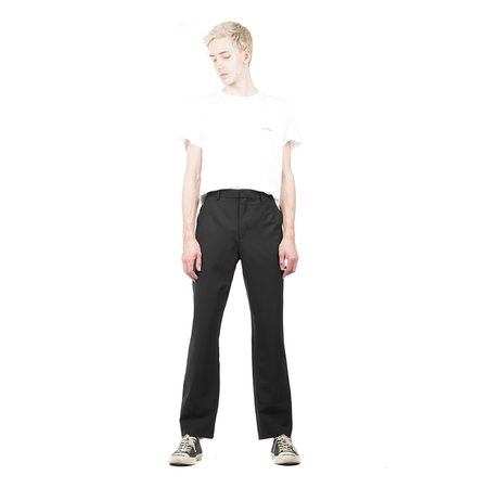 SECOND / LAYER Flared Pant - Black