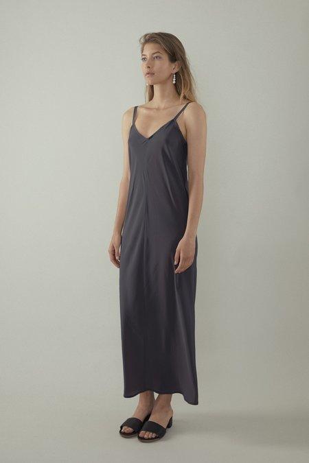 OVNA OVICH Elem Dress - Slate Silk