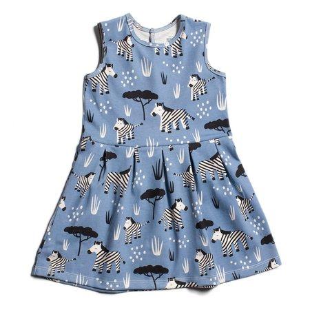 Kids Winter Water Factory Essex Dress - Zebras Blue