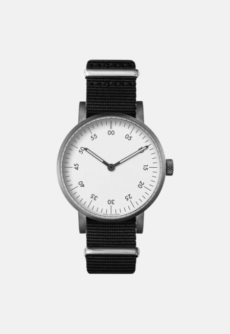 Unisex VOID Classic White Analogue Watch - Black/White