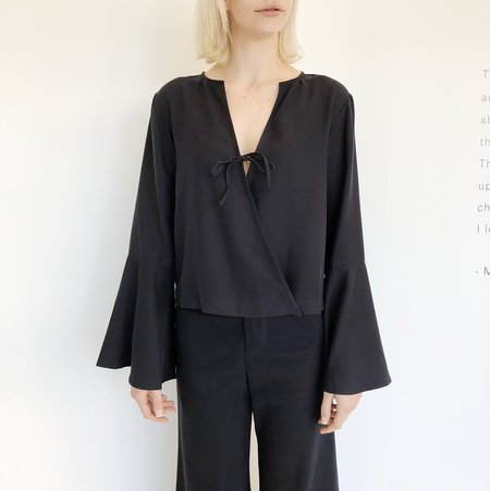 Vestige Story Black Bell Top