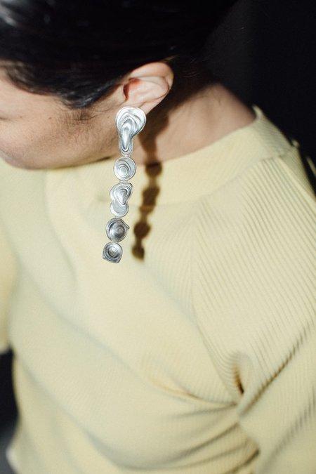 Leigh Miller Drip Earrings - Sterling Silver