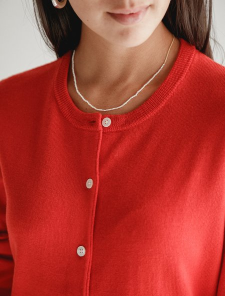 Saskia Diez Fine Pearl/Gold Necklace