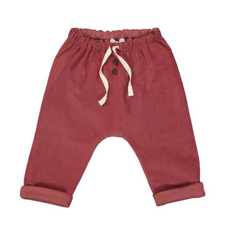 Kid's Petite Lucette Axel Pants - Cedar Wood Corduroy