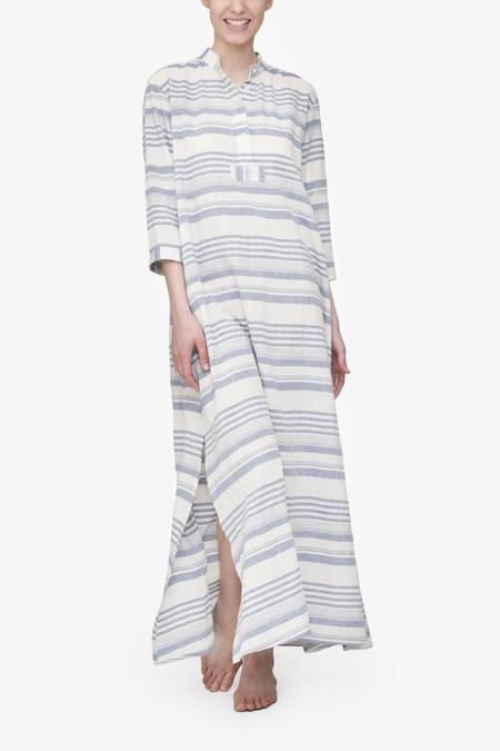 The Sleep Shirt Full Length Sleep Shirt Beach Stripe