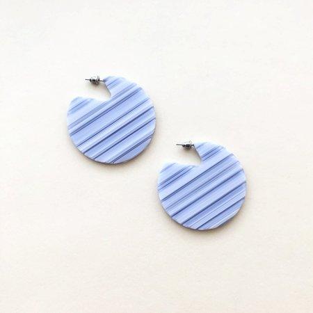 Machete Clare Earrings in Riviera Stripe