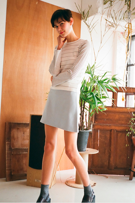 O.O Saturday Bell Sleeve Top- White