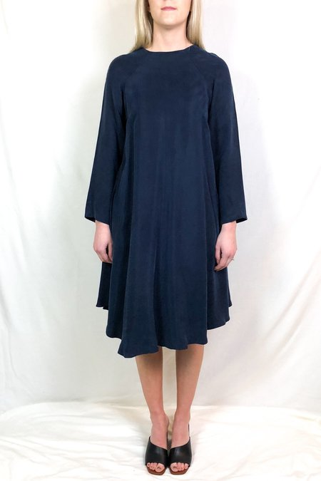 KAAREM sapa leaf long sleeve dress