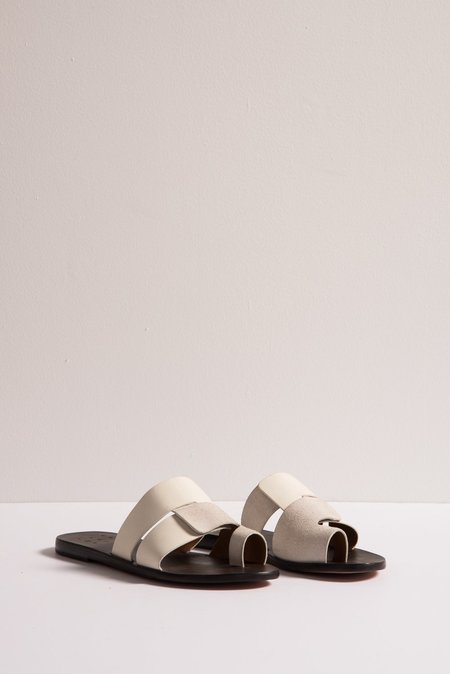 Trademark Cadiz Sandal in White