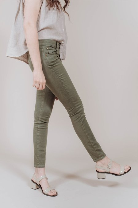 The Great. The Skinny Jean - Olive