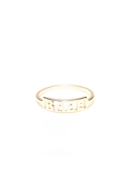 Winden Babe Ring - 14K Yellow Gold