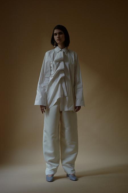 LUISA ET LA LUNA Michel Shirt - WHITE
