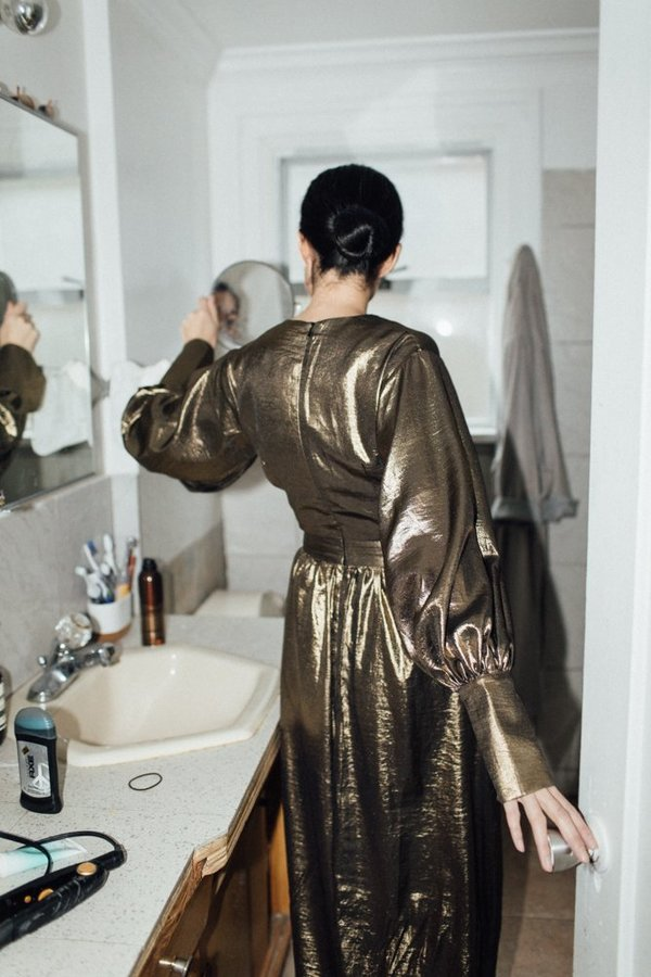 Style Mafia Arya Dress - Gold