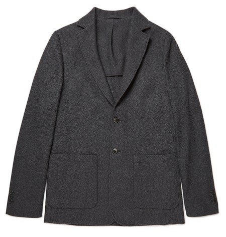 Sunspel Soft Wool Cashmere Blazer