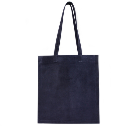 Tsatsas Navy Suede Strato Bag