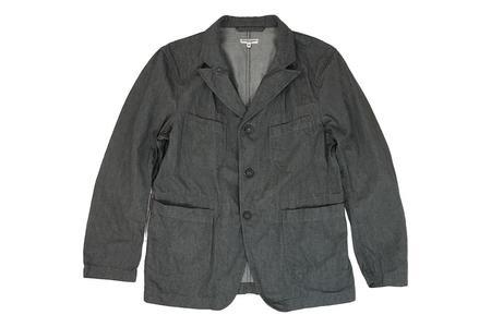Engineered Garments Bedford Jacket - Dark Heather Grey Twill