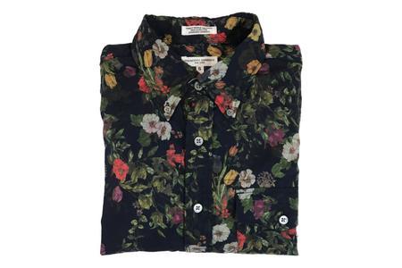 Engineered Garments Pop Over Button Down Shirt