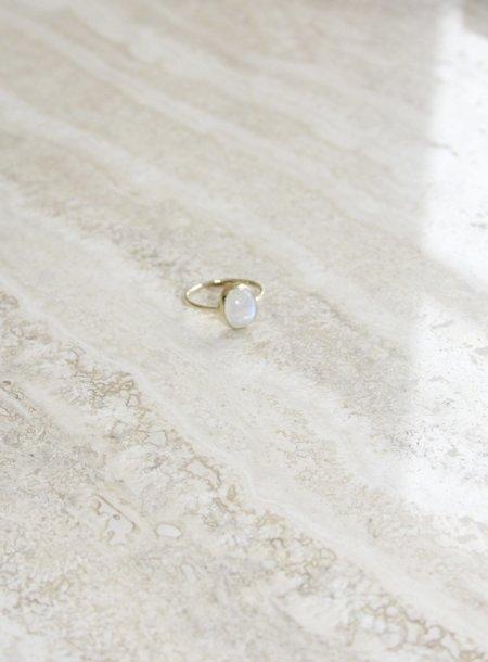 Olivia Kane Moonstone Oval Ring