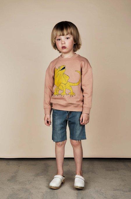 Kids Mini Rodini Draco Print Sweatshirt