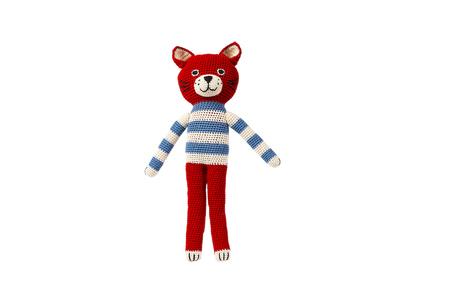 Kid's Anne-Claire Petit Felix the Cat Red- Dodo Les Bobos