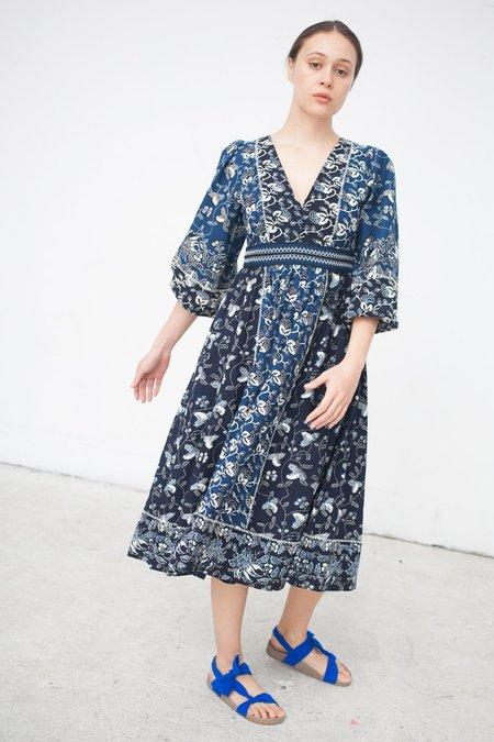 Ulla Johnson Iona Dress in Indigo