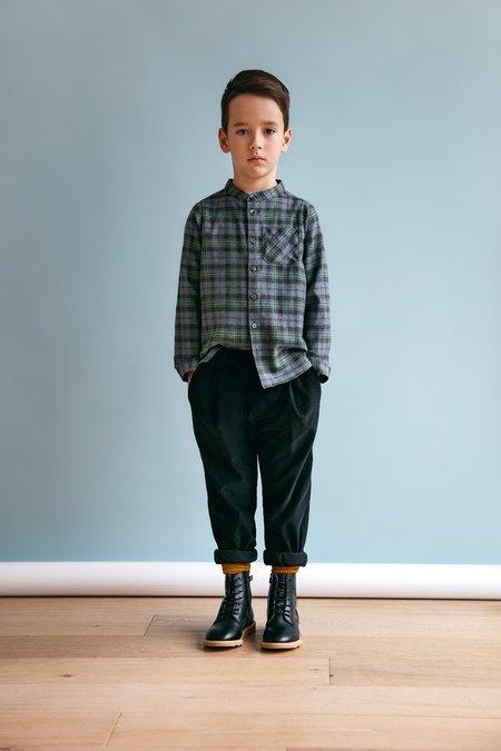 Kids Unisex Petits Vilains Frederique Peg Leg Trousers - Black