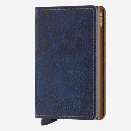 SECRID Slim Wallet - Indigo 5 Leather